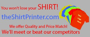 The Shirt Printer - FREE SHIPPING NATIONWIDE!
