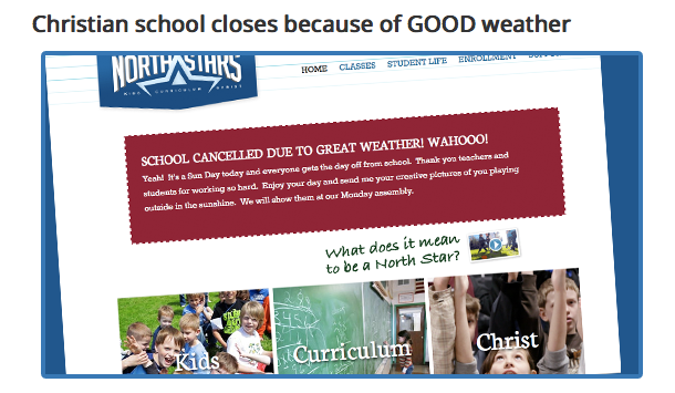 school cancellation
