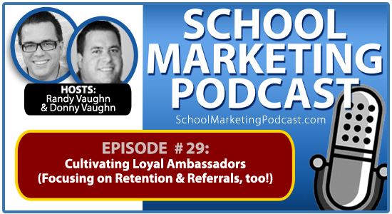 School marketing podcast #29: Retention, Referrals & Amy Grant